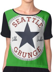 Seattle Grunge All Star Chiffon Top