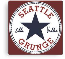 Seattle Grunge All Star Canvas Print