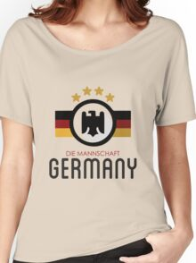 GERMANY JERSEY Women's Relaxed Fit T-Shirt