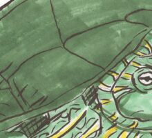 I've got a Turtle Head Poking Out Sticker