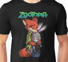 Nick And Judy Zootopia Unisex T-Shirt