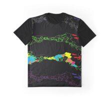 Dancing Rivers Graphic T-Shirt