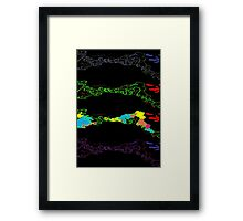 Dancing Rivers Framed Print