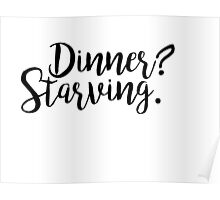 Dinner? Poster