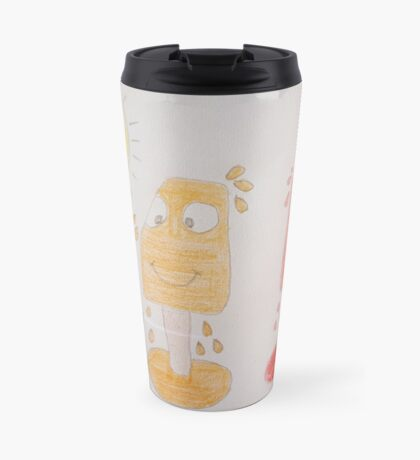 we are melting design Travel Mug