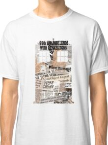Doctor Who - TARDIS newspaper articles Classic T-Shirt