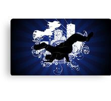 Breakdance Canvas Print