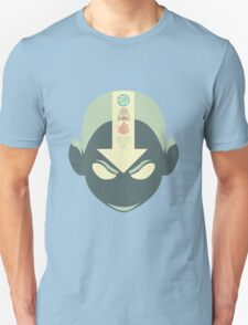 Aang's head with 4 elements Unisex T-Shirt
