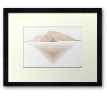 Landscape chill out 2 Lanzarote Framed Print