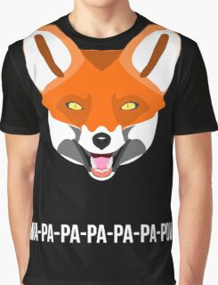 What does the fox say? Graphic T-Shirt