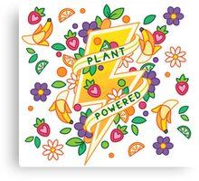 Plant Powered Canvas Print