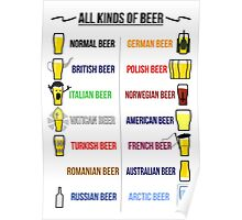 Stereotypical Beer Poster