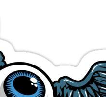 Flying eye Sticker
