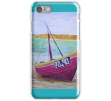 penzance boats iPhone Case/Skin