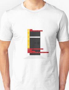 Bauhaus Monolith Unisex T-Shirt
