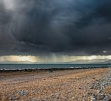 Storm Over Tremadoc Bay by ten2eight