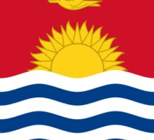 Kiribati Flag Stickers Sticker