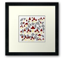Lose your heart this Autumn Framed Print