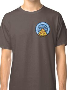 WE COME IN PEACE FOR PIZZA Classic T-Shirt