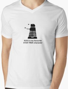 R2D2 Mens V-Neck T-Shirt