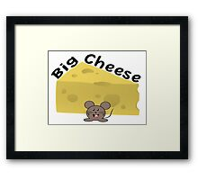 Big Cheese Framed Print