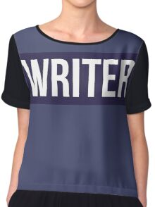 Writer Kevlar Chiffon Top