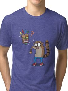Rigby Bandicoot Tri-blend T-Shirt