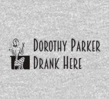 Gilmore Girls - Dorothy Parker Drank Here One Piece - Long Sleeve