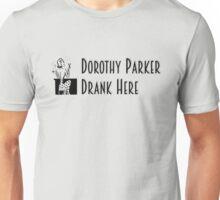 Gilmore Girls - Dorothy Parker Drank Here Unisex T-Shirt