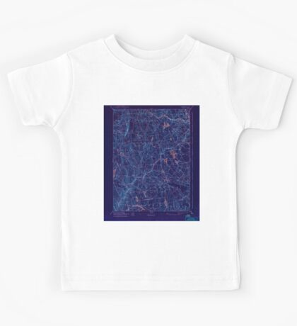 USGS TOPO Map Connecticut CT Gilead 331031 1892 62500 Inverted Kids Tee