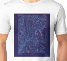 USGS TOPO Map Connecticut CT Gilead 331031 1892 62500 Inverted Unisex T-Shirt