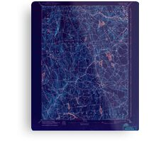 USGS TOPO Map Connecticut CT Gilead 331031 1892 62500 Inverted Metal Print
