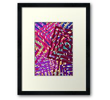 Abstract Geometrics Framed Print