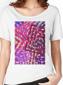 Abstract Geometrics Women's Relaxed Fit T-Shirt