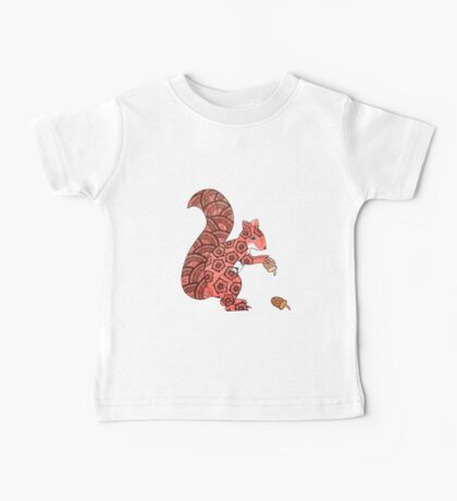 Red squirrel Baby Tee