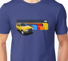 T-shirt Car Art - Yellow Citroen Visa Unisex T-Shirt