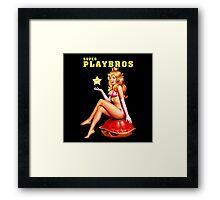 Super Playbros Framed Print
