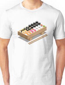 Isometric Sushi Unisex T-Shirt
