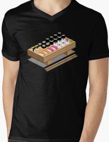 Isometric Sushi Mens V-Neck T-Shirt