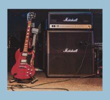 Gibson SG & Marshall Amp Kids Tee