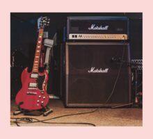 Gibson SG & Marshall Amp One Piece - Short Sleeve