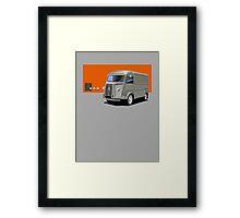 T-shirt Car Art - Citroen HY Van Framed Print