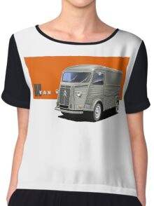 T-shirt Car Art - Citroen HY Van Chiffon Top