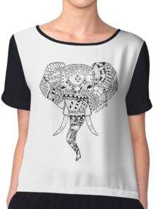 The Elephant in the Room  Chiffon Top