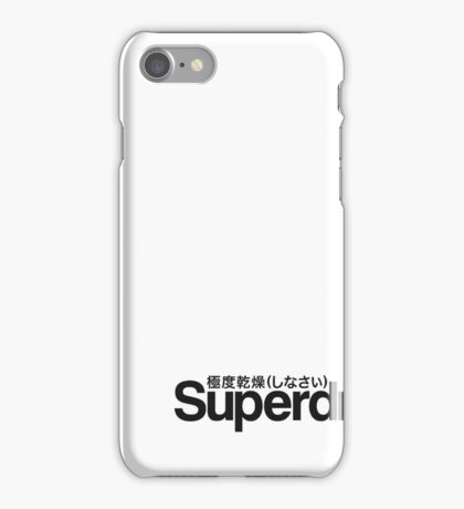 SUPERDRY LOGO PRODUCTS iPhone Case/Skin