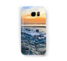 grey rocks at rocky beach Samsung Galaxy Case/Skin