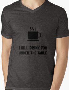 Drink You Under Table Mens V-Neck T-Shirt