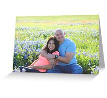 Melissa and Chris Greeting Card