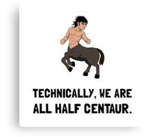 Half Centaur Canvas Print
