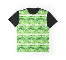 Green Meander Graphic T-Shirt